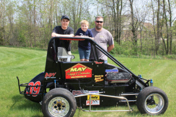 May Roofing Go Cart 350